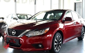NISSAN ALTIMA 2.5 SV (BRAND NEW, TYPE 3 OPTION)-, V4- 2018- RED-