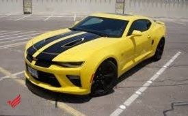 CHEVROLET CAMARO- 2018- YELLOW- GCC