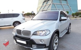 GCC BMW X5 2008 4.8 Full Options