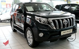 TOYOTA LAND CRUISER PRADO GX.R 2015 MODEL GCC SPECS