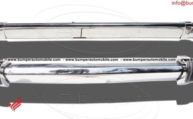 BMW 2002 bumper (1968-1971) by stainless steel
