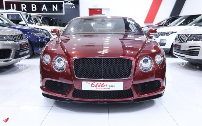 BENTLEY CONTINENTAL GT V8s 2015 (Red)