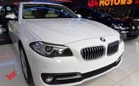 "2016 BMW 520i ""5YRS DEALER WARRANTY"""