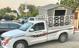 1 Ton Pickup For Rent in Dubai 055-5757094