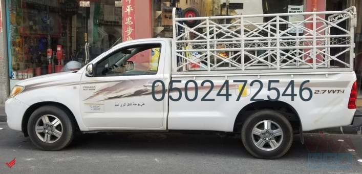 1ton pickup for rent in satwa 0553450037