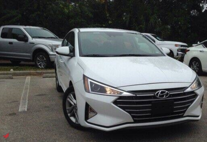 Hyundai Elantra 2020 model GCC