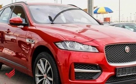 Used 2017 Jaguar F-Pace 3.6 V6 for sale in Sharjah - AED 185,500