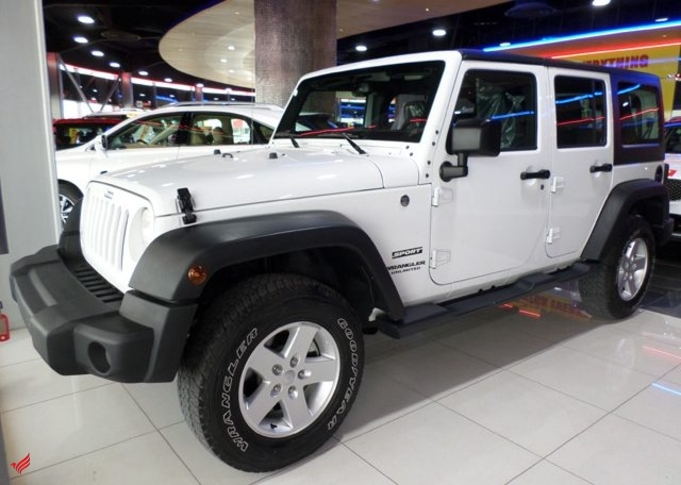 2017 JEEP WRANGLER SPORT UNLIMITED 4X4