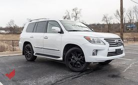 Perfectly Used Lexus LX 570 Suv for