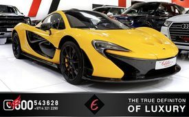 MCLAREN P1 SUPER CAR COUPE 2015 (Yellow)