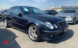 MERCEDES BENZ E55 AMG SUPER CHARGE DARK GREEN MODEL