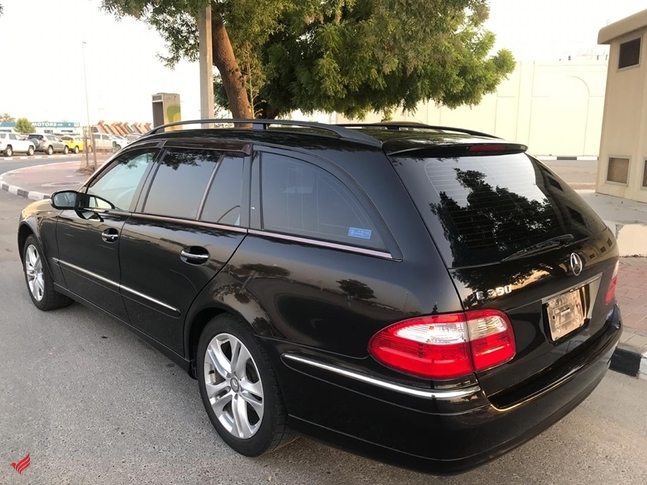MERCEDES BENZ E350 V6 WAGON BLACK MODEL 2006