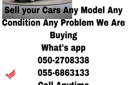 CARS WE BUY 055 6863133 USED DAMAGE SCRAP JUNKS