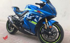 Available here Suzuki GSXR 1000cc 2017 and Hayabusa 2005 Gray co