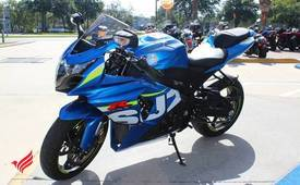 2015 Suzuki GSXR1000 available