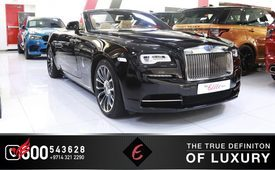 ROLLS ROYCE DAWN 4-BUTTON CONVERTIBLE 2020 (Black)