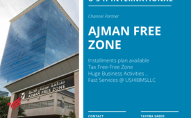 Registered Company in UAE #0503972138 Ajman Free Zone