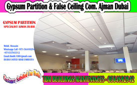 Office Partition & False Ceiling Contractor Umm Al Quwain/ Ajman