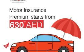 Motor Insurance Premium from 630AED | InsureAtOasis