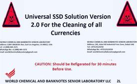 SSD Solution Chemical And Activation Powder For Cleaning Black Banknotes