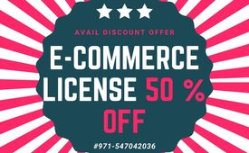 eCommerce trade license limited time offer