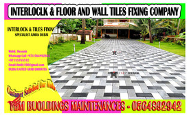 Harvey Interlock Fixing work Contractor in Dubai Sharjah Ajman