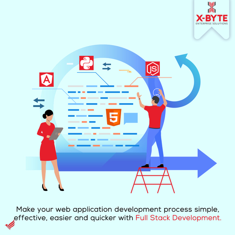 Top Rated Full Stack Web Development Service Provider in USA/UAE | X-Byte