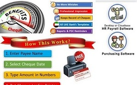 Best cheque printing software in UAE