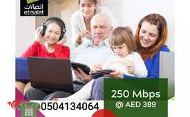 Etisalat home internet packages