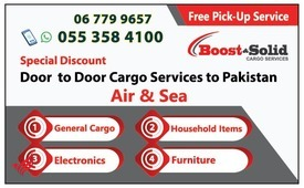 Cargo to Pakistan from Dubai