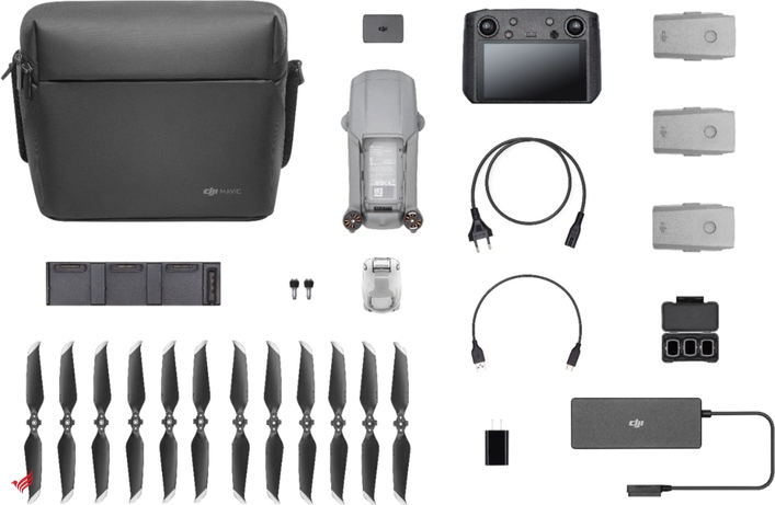 Mavic Air 2 Fly More Combo with DJI Smart Controller