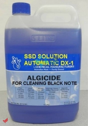 ssd chemical solution and powder for cleaning notes