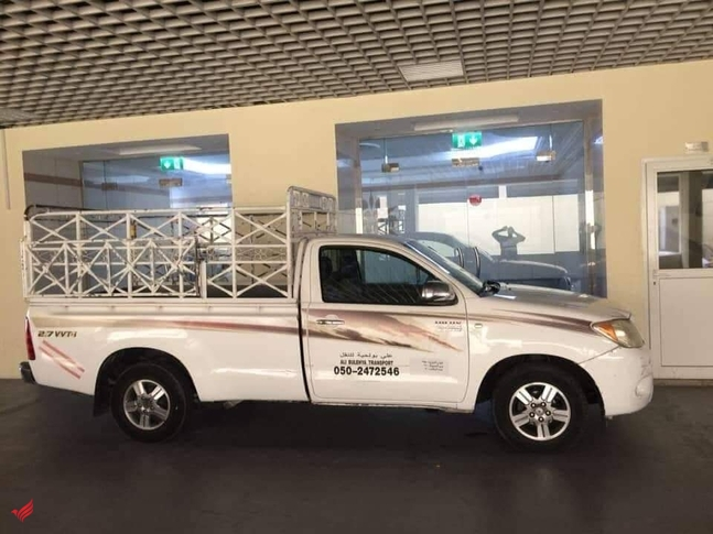 1ton pickup for rent in mirdif 0504210487