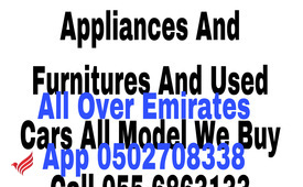CALL 055 6863133,WE BUY HOME APPLIANCES AND FURNITURE