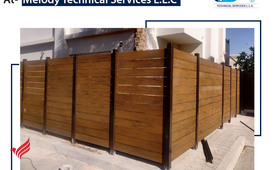 WPC Fence Supply and fixings in Dubai | WPC Fence Suppliers in Dubai UAE