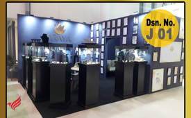 Jewelry display for rent in Dubai | Jewelry Showcase Suppliers events Dubai