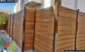 Wooden/WPC Fence Suppliers in Sharjah | WPC installation in UAE