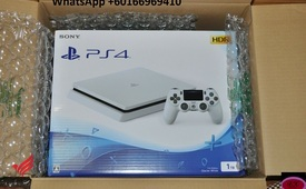 Sony PlayStation 4  HDR Game Console White 1TB