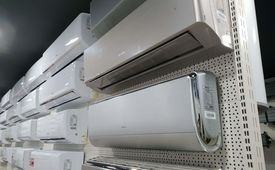 Air conditioner modes + 5 years warranty