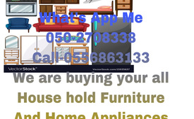 055 6863133 HOME APPLIANCES & HOME FURNITURE & USED CARS WE WANTED