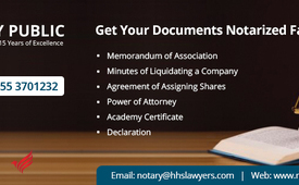 Private Notary Services in UAE