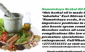 Namutekaya Herbal Oil For Impotence & Male Enhancement In Fujairah