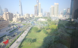 3 BR + Maid's Full Burj and Fountain View