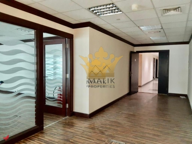Fitted Office In Proper Set Up Glass Partitioned