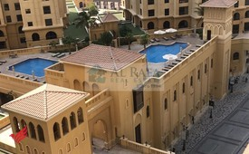 2 bedroom apartment for rent pool view .