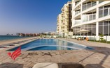 1BHK FULLY FURNISHED  SEA VIEW ! GYM POOL.