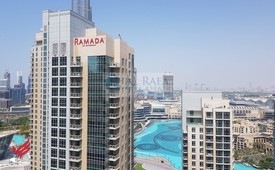Excellent 1Br - Well Maintained - Burj & Fountain View