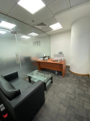 Furnished Office for rent in Al Qusais with Free Access to Meeting Room