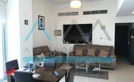 Furnished Lake View 1 bedroom Business Bay