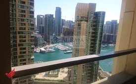 Spacious 2BHK Aartment With Full Marina View.